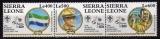 miniature Sierra Leone 1995 - Scouts    (g2993)