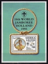 miniature Sierra Leone 1995 - Scouts bf    (g2994)