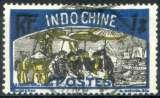 miniature INDOCHINE  _  Y & T  :  N°  145  (o)  -   Cote  :   9,00  €