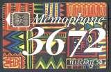 Télécarte - F356A - 50 unités - Mémophone - numéro rouge - année 1993