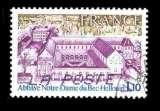 miniature France Oblitéré Yvert N°1999 Abbaye Bec Hellouin 1978
