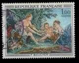 miniature France Oblitéré Yvert N°1652 Tableau BOUCHER