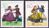 miniature Allemagne RFA 1981 Europa - Le folklore - Y&T 928/9 **