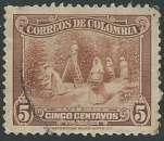 miniature Colombie - Y&T 0273 (o) - Récolte du Café -