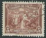 miniature Colombie - Y&T 0327 (o) - Récolte du Café -