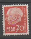 miniature SARRE           N°     377       OBLITERE   (alb)