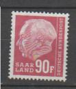 miniature SARRE           N°     407      OBLITERE   (alb)