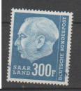 miniature SARRE           N°     410      OBLITERE   (alb)
