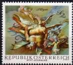 miniature Autriche - 1968 - n° 1108 (YT) - Fresque baroque   (**)