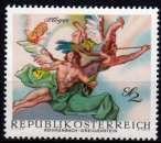 miniature Autriche - 1968 - n° 1109 (YT) - Fresque baroque   (**)
