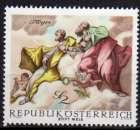 miniature Autriche - 1968 - n° 1110 (YT) - Fresque baroque   (**)