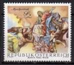 miniature Autriche - 1968 - n° 1111 (YT) - Fresque baroque   (**)