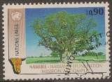 miniature Nations Unies Geneve 1991 : Oblitéré/Used # Namibie - Naissance d'une nation