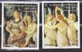 miniature France 4518 4519 tableaux de Boticelli 2010 neuf ** luxe MNH sin charnela