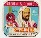 anciennne Etiquette du Carré du Sud-Ouest le Caïd  16