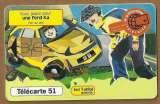 Télécarte - Phone card - F1018 - 11/99 - GEM1A - 51 u - Jeu Milliardième - Ford Ka .