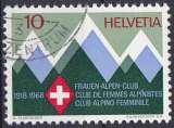 Suisse 1968 oblitéré n° 803