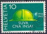 Suisse 1968 oblitéré n° 811