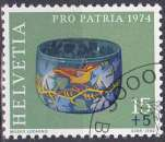 Suisse 1974 oblitéré n° 961
