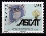 miniature MONACO 2712 Ascat 2009 neufs ** luxe prix de la poste 1.35