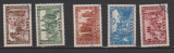 miniature SARRE           N° YVERT  278/282       OBLITERE    (ALB)