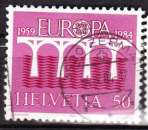 miniature Suisse 1984 YT 1199 Obl Europa