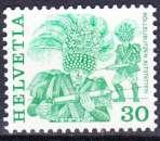 miniature Suisse 1982 YT 1170 MNH Folklore Rollelibutzen Altstatten