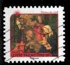 miniature France Oblitéré Adhésif Yvert N°628 Nativités 2011 Maître de 1518