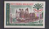 miniature MADAGASCAR       N°   498   NON  DENTELE       NEUF SANS CHARNIERE