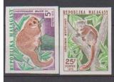 miniature MADAGASCAR       N°  536/537   NON  DENTELE       NEUF SANS CHARNIERE