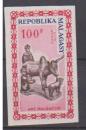 miniature MADAGASCAR       N°  PA  96  NON  DENTELE       NEUF SANS CHARNIERE