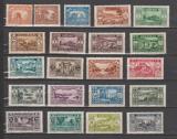 miniature GRAND LIBAN                 N°  128/148   ( Pt Rouille)    NEUF AVEC CHARNIERES