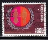 miniature Suisse Nations Unies 1995 YT ???? Obl Année de la femme