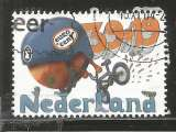 miniature Pays-Bas 2004 - YT n° 2174 - Fruits - Orange sur un bicross