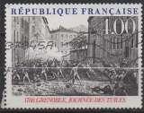 miniature FRANCE 1988 - Y & T : 2537 (o) - Philexfrance 89 : bicentenaire Révolution