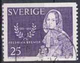 miniature Suède 1965 oblitéré n° 527