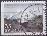 miniature Suède 1967 oblitéré n° 558a