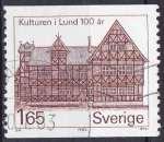 miniature Suède 1982 oblitéré n° 1175
