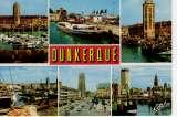 miniature Dunkerque la tour du Leughenaer le bateau promenade la tour du Reuze et l'hôtel de ville ...