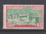miniature GUADELOUPE          N°  102 ( 5 )      OBLITERE