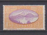 miniature GUADELOUPE          N°  108  ( 6 )      OBLITERE