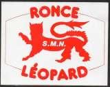 Autocollant - Ronce Léopard - 12,5 cm X 9,5 cm