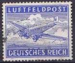 Allemagne Reich 1942 oblitéré franchise militaire n° 1
