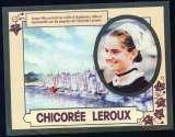 143 - Calendrier de poche 2 volets - Jamais plié - 1985 - Chicorée Leroux  - 2 scans