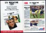 144 - Calendrier de poche 2 volets - 1999 - La Manche Libre - 2 scans