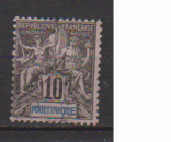 miniature MARTINIQUE         N°  35    OBLITERE             ( 09/15 )