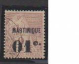 miniature MARTINIQUE         N°  7  OBLITERE             ( 09/15 )