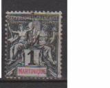 miniature MARTINIQUE         N°  31     OBLITERE             ( 09/15 )