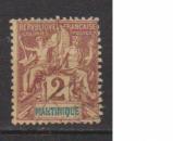 miniature MARTINIQUE         N°  32    OBLITERE             ( 09/15 )