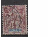 miniature MARTINIQUE         N°  33    OBLITERE             ( 09/15 )
